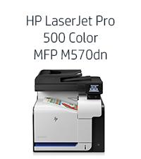 Amazon.com: HP LaserJet Pro 500 color MFP M570dn (CZ271A)