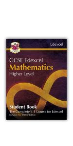 Grade 9-1 GCSE Edexcel Maths Student Book from CGP