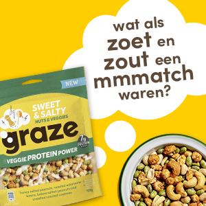 De Sweet & Salty Sharing Bag van Graze.
