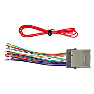 Enrock EGMWH98-08 Wiring Harness for Connection of a Stereo for Select on