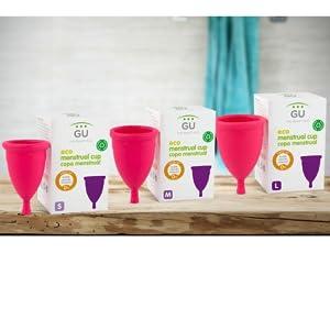 Copa Menstrual Ecológica - Talla M - Sistema antigoteo ...