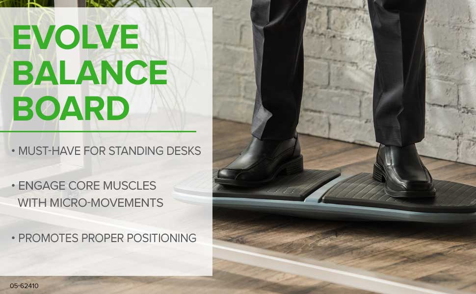 Gaiam Evolve Balance Board For Standing Desks