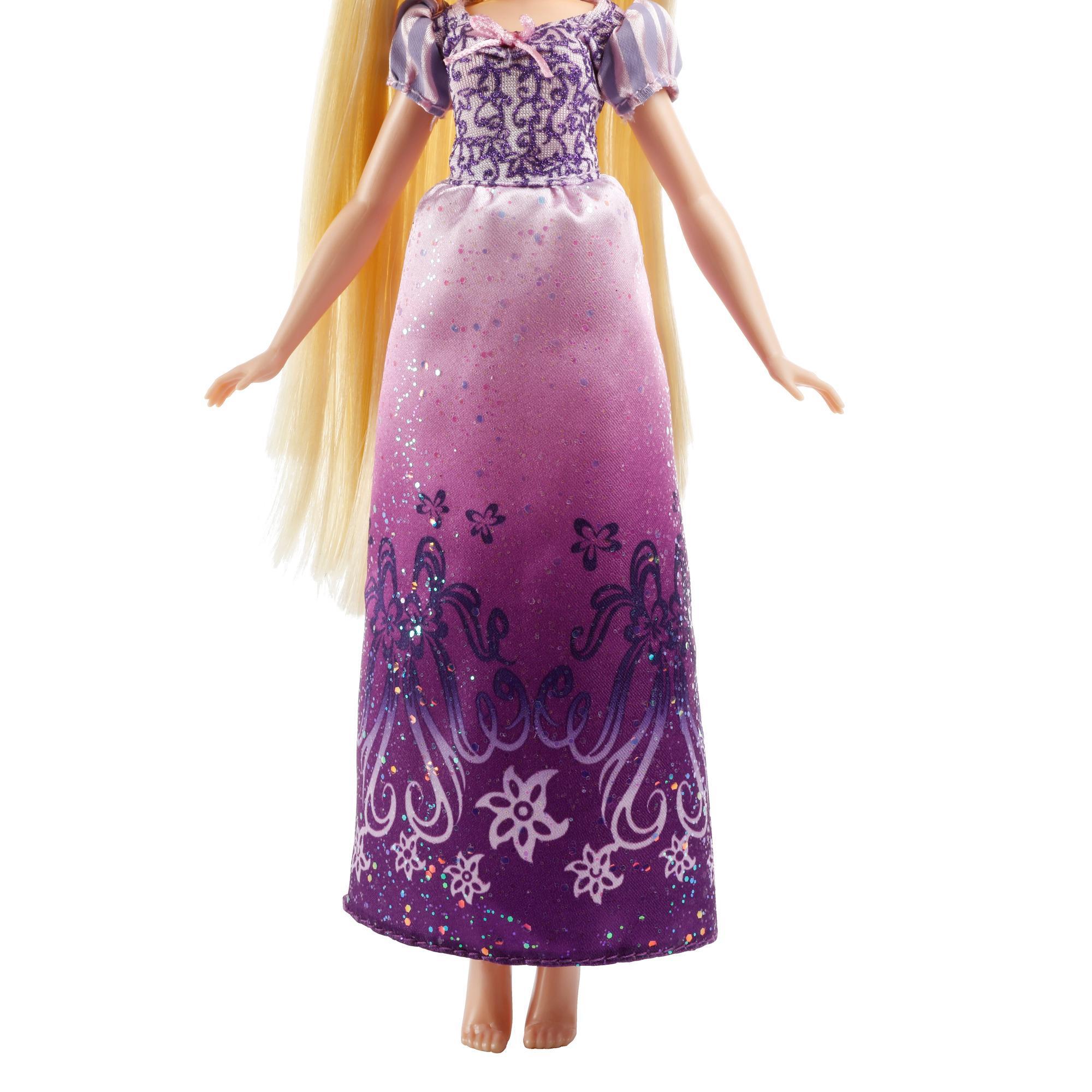 Hasbro E4157ES2 Disney Prinzessin Schimmerglanz Rapunzel Mode-, Spielpuppen & Zubehör