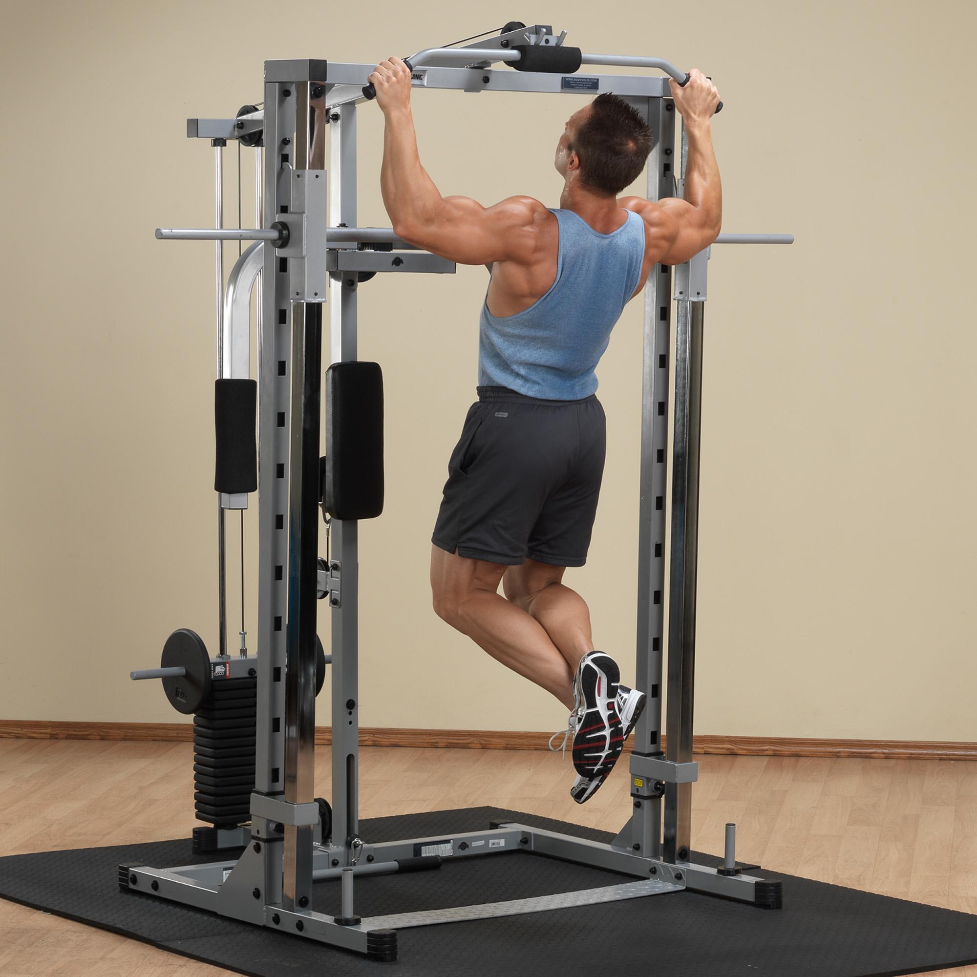 Amazon Com Body Solid Powerline Psm1442xs Smith Machine