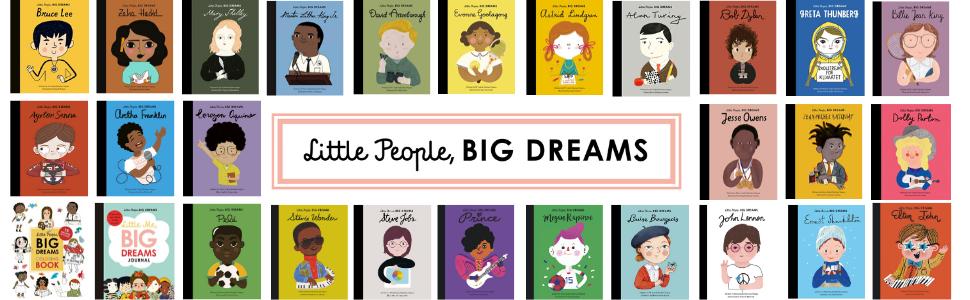 Little People Big Dreams banner