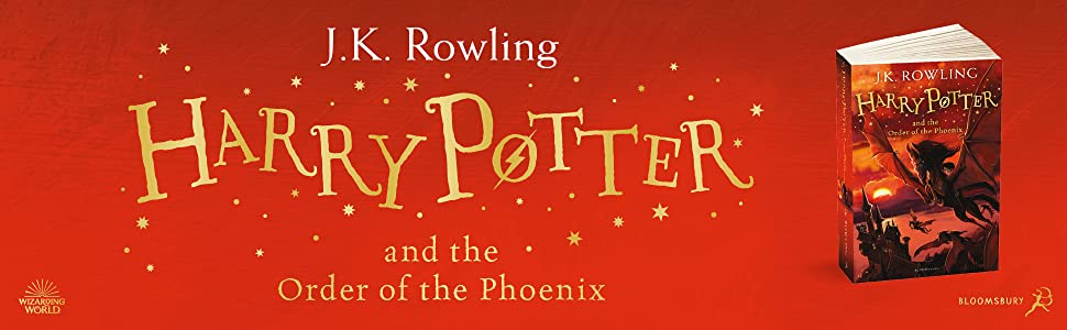 Harry Potter and the Order of the Phoenix, JK Rowling, Bestselling Children's Book, Magic, Fantasy