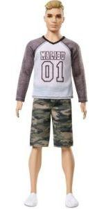 Barbie Fashionista Muñeco Ken Ropa camuflaje muñeco ...