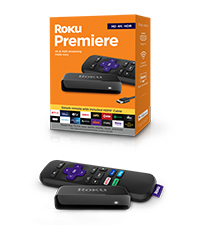 Roku Premiere HD/4K/HDR Streaming Media Player with Simple Remote and HDMI Cable