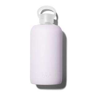 bkr glass silicone water bottle beauty hydration big 1L 32OZ biggest liter litre