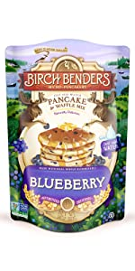 birch benders blueberry pancake waffle mix