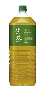 生茶、大型、緑茶、茶