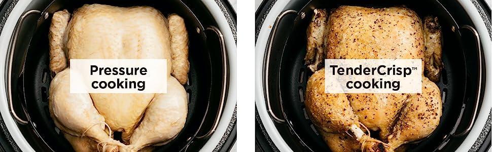 Katigan Accessoire de Cuisine Inverseur de Lib/éRation de Vapeur Adapt/é pour Ninja Foodi//Crock Pot//Autocuiseur /éLectrique Taille XL pour 6QT