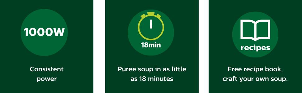 phillips soupmaker recipe book