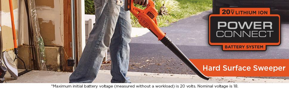 hard surface sweeper