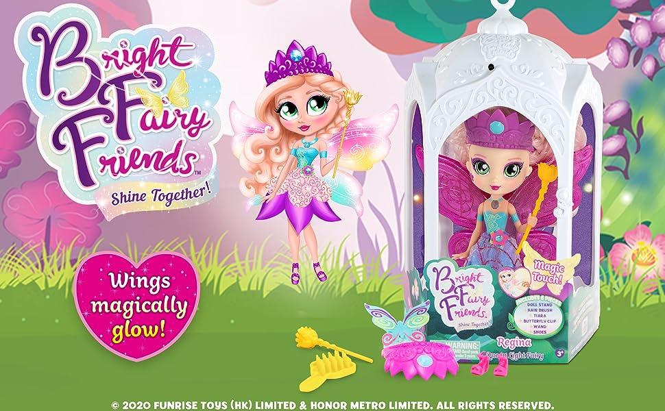 BFF Bright Fairy Friends Doll Queen Fairy