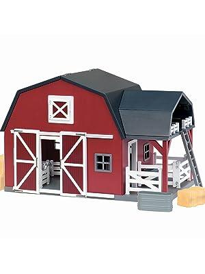 horse toy schleich animal farm breyer figurine plastic Melissa doug miniature toddler kids barn wood