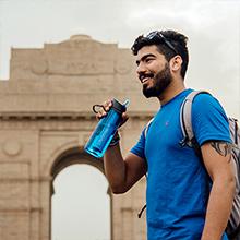 traveling water bottle