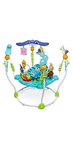 Amazon Com Minnie Mouse Peekaboo Activity Jumper Baby
