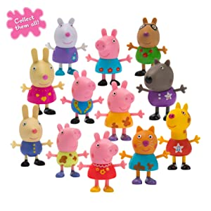 Peppa Pig Surprise Mini Campers Blind Bag CANDY CAT Mystery Figure HARD TO FIND