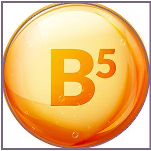 Pro-Vitamin B5 and vitamin E help improve skin suppleness