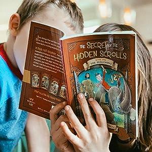 secret of the hidden scrolls time travel adventure series m.j. Thomas magic treehouse early reader