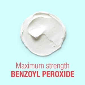MAXIMUM-STRENGTH BENZOYL PEROXIDE