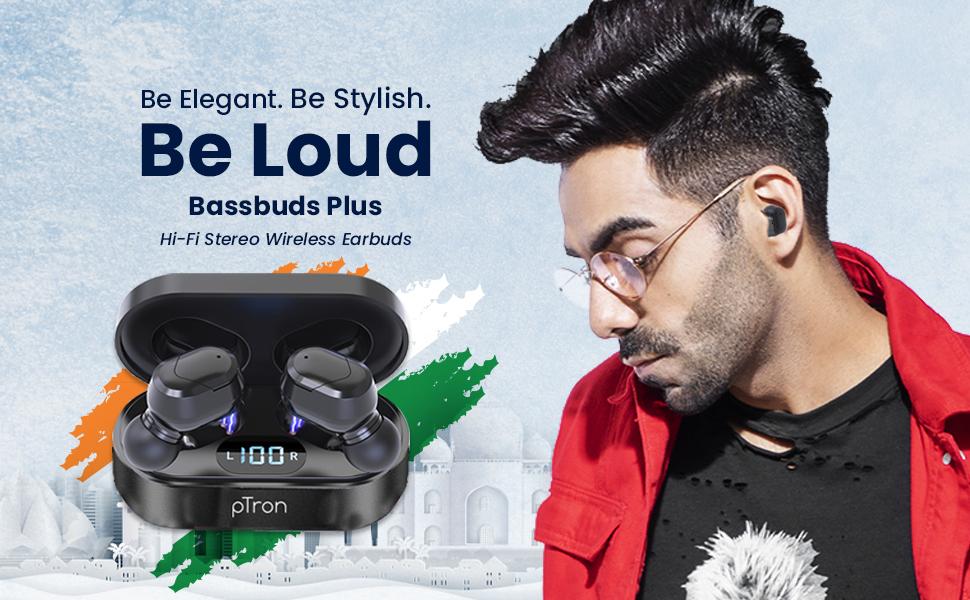 Bassbuds Plus wireless headphones