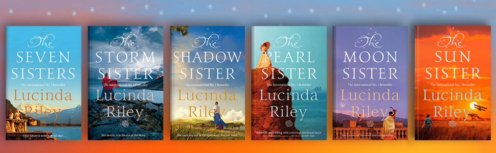 the sun sister, lucinda riley, macmillan, hardback, seven sisters