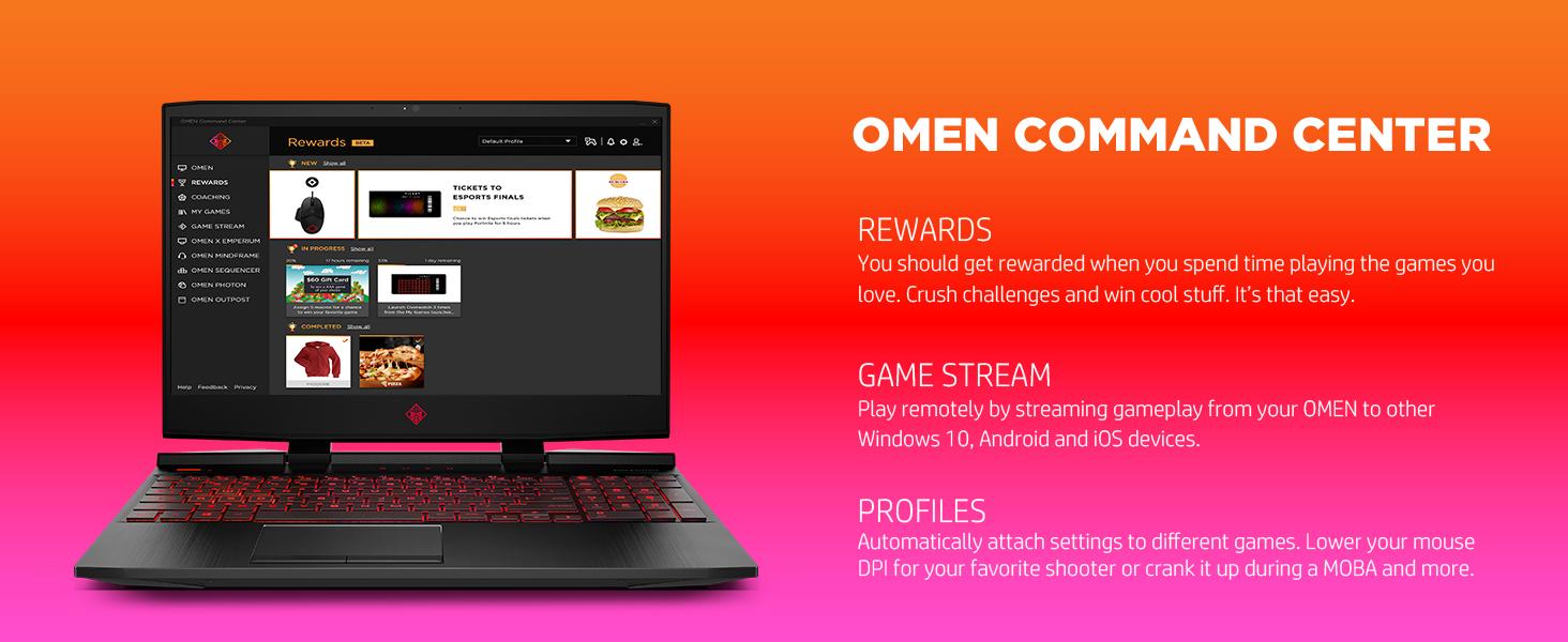 omen command center coach coaching rewards prize challenge stream remote gameplay