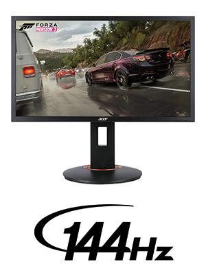 "Acer XFA240 24"" GYSNC Compatible 144HZ Full HD 1920 x 1080 1ms Amazon Choice"