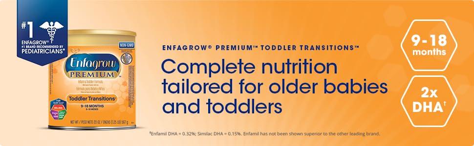 Amazon Com Enfagrow Premium Non Gmo Toddler Transitions