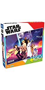 Star Wars - Rebel Heroes - 100 Piece Jigsaw Puzzle
