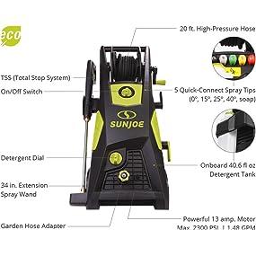 Amazon Com Sun Joe Spx3501 2300 Psi 1 48 Gpm Brushless