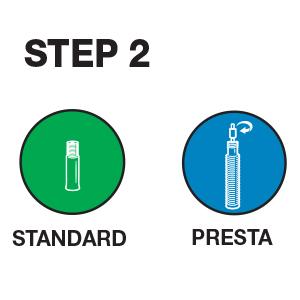 valve type, standard valve, presta valve