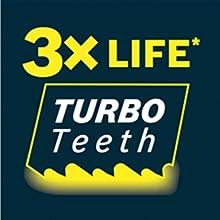 Turbo teeth