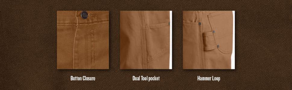 Duck pant, carpenter pant, utility pant, Carhartt pant, Dickies, jean, work pant
