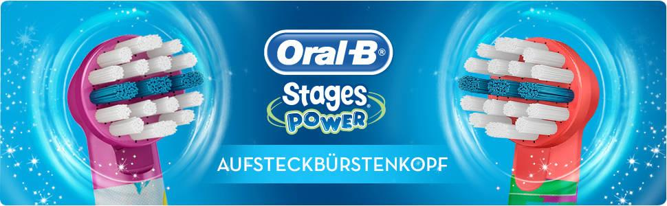 Braun Oral-B Stages Power Aufsteckbürsten