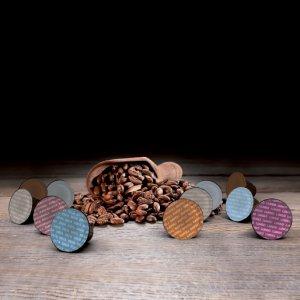 Must Espresso Italiano Variety Pack 96 Capsule Solubili compatibili Dolce Gusto: Orzo Bio, Ginseng, Latte Macchiato, Cioccolato, Cortado, Cappuccino Barista