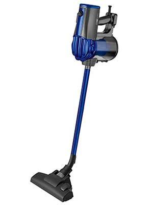 Clatronic BS-1306 Aspirador ciclónico, escoba potente sin bolsa, uso vertical y de mano, 600 W, Plástico, Azul: Amazon.es: Hogar