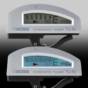 BOSS TU10 SV Accordatore a Clip Chitarra elettrica e strumenti