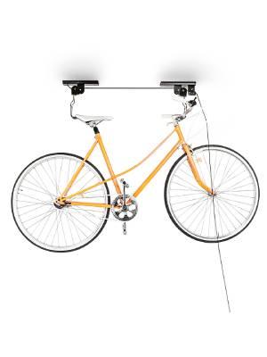 Relaxdays Support Velo Rangement Velo Plafond Garage Ascenseur Vtt Stockage Bicyclette Noir Amazon Fr Sports Et Loisirs