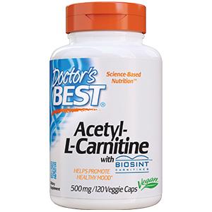 Acetyl-L-Carnitine contains Biosint healthy mood brain health sports nutrition nerve growth