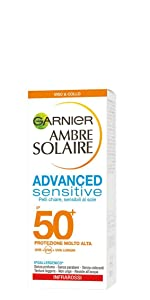crema solare, crema solare viso e collo, crema viso solare, crema protezione solare, per viso
