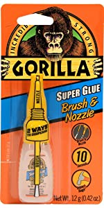 Gorilla Brush & Nozzle Super Glue