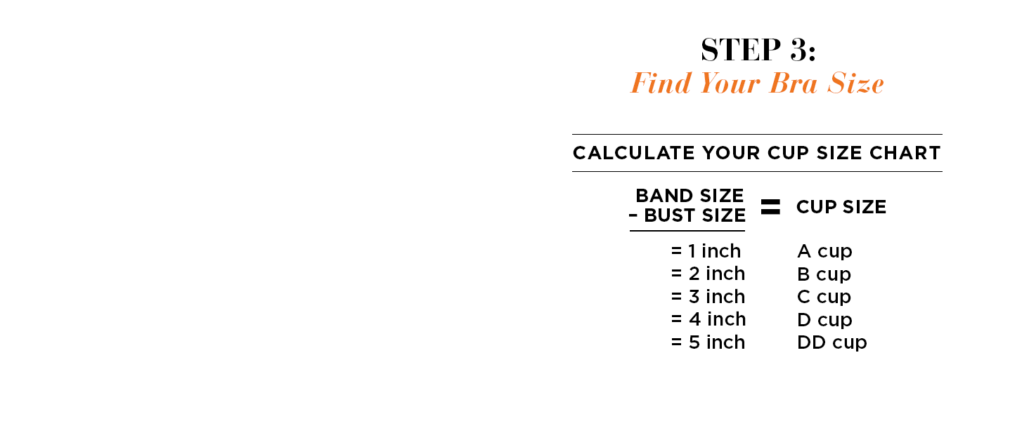 Find your bra size