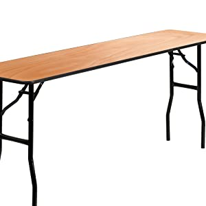 folding training table for up to three people