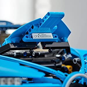 Amazon Com Lego Technic Bugatti Chiron 42083 Race Car Building Kit And Engineering Toy Adult Collectible Sports Car With Scale Model Engine 3599 Pieces Toys Games