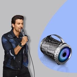 Karaoke with RGB LED