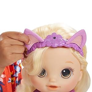 Amazon.es: Baby Alive Muñeca Daniela peinados mágicos (Hasbro ...