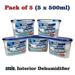 Ansio Interior Dehumidifier Condensation Remover